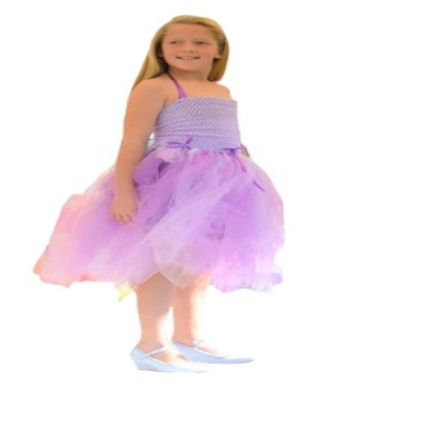 Tutu Dress Lilac Short