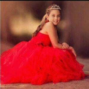 Tutu Dress Red