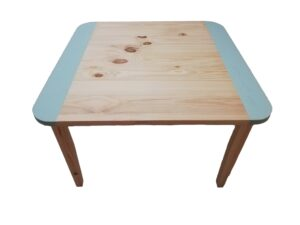 Square Table Large - Turquoise