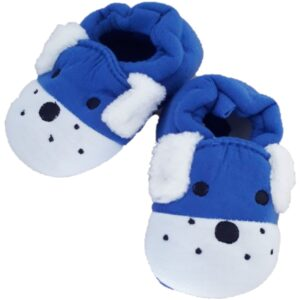 blue baby boys slippers