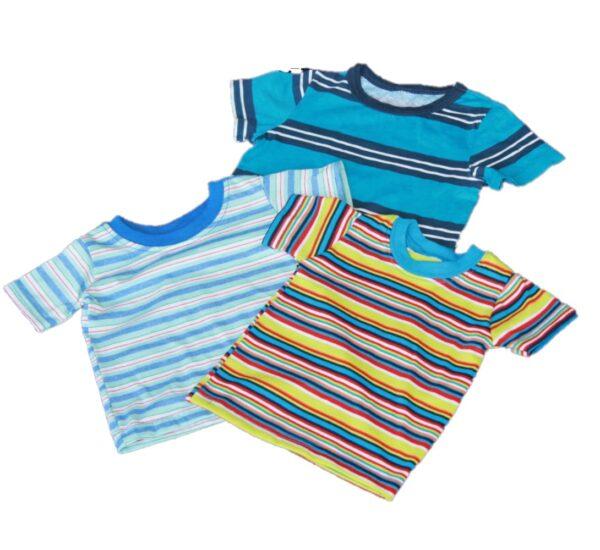 boys striped t shirts