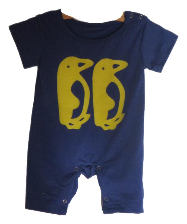 Boys Penguin Onesie (Babygro)