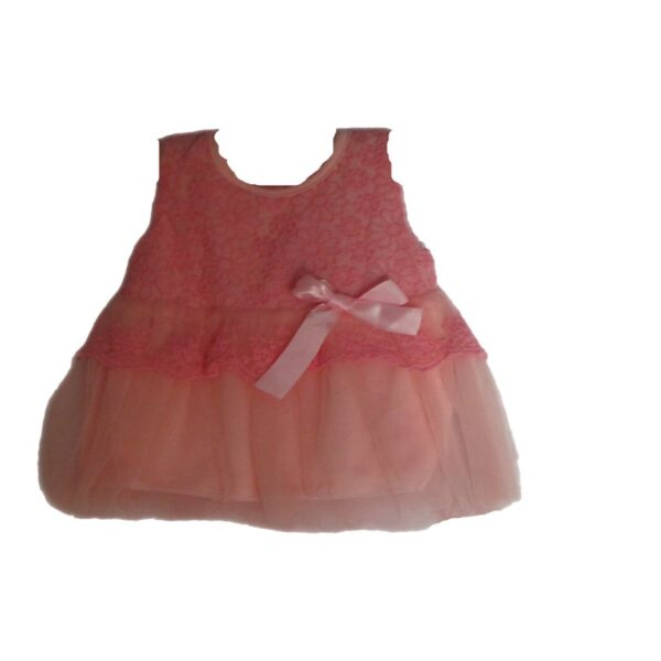 Baby Girl Pink Lace and Tulle Dress