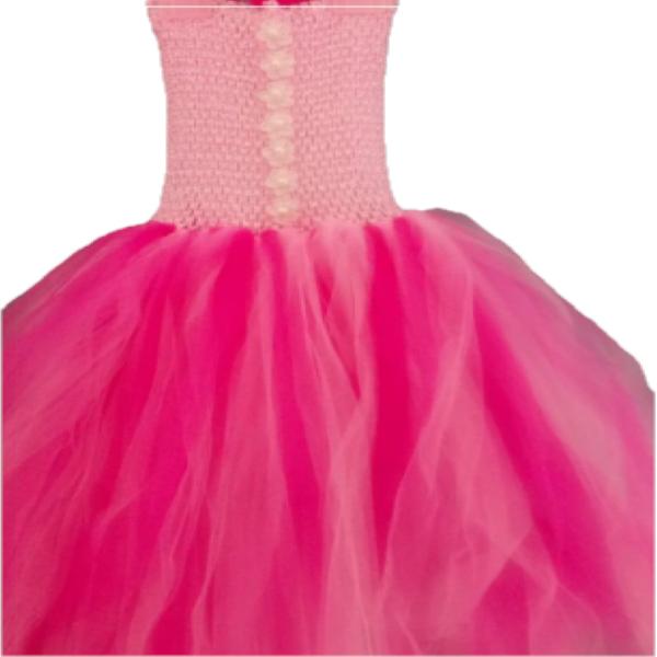 Tutu Dress Pink Long
