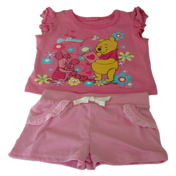 Baby Girl T-Shirt Set