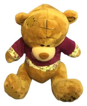 SMALL TATTY TEDDY BEAR